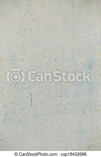 background of an old wall with cracked paint - csp18432686