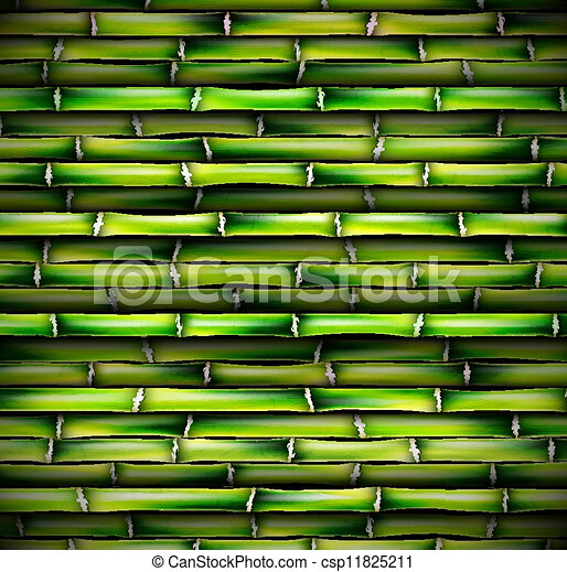 Background of bamboo - csp11825211