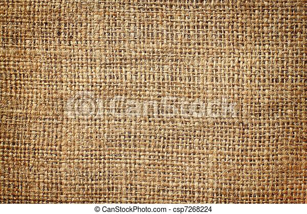 background of burlap hessian sacking - csp7268224