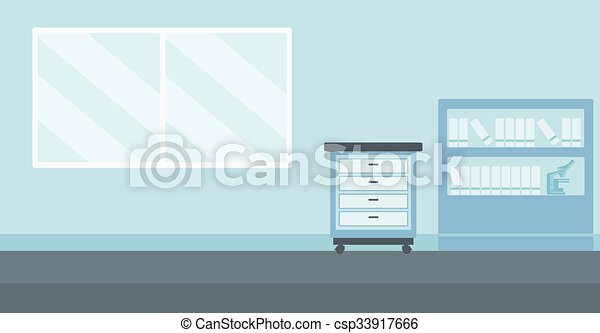 Background Of Doctor Office Background Of Doctor Office Vector Flat
