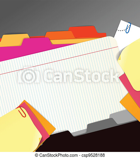 Background of paper stuff - csp9528188