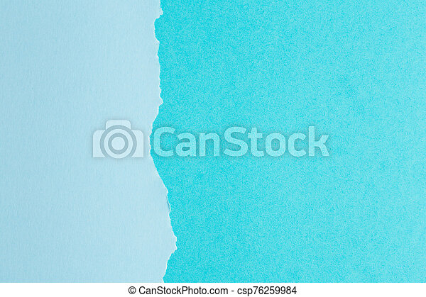 background of paper with a ragged edge in the middle - csp76259984