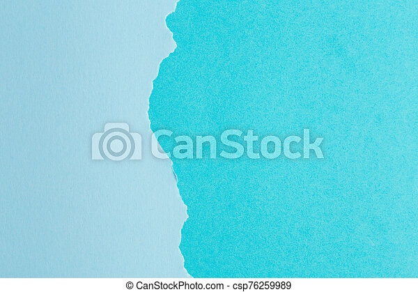background of paper with a ragged edge in the middle - csp76259989