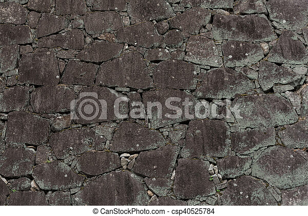Background of stone wall texture - csp40525784