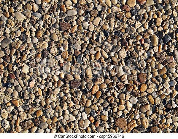 Background of stones - csp45966746
