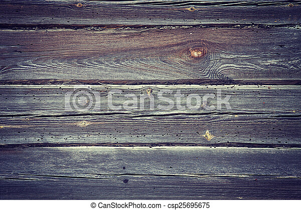 Background of the old wooden - csp25695675