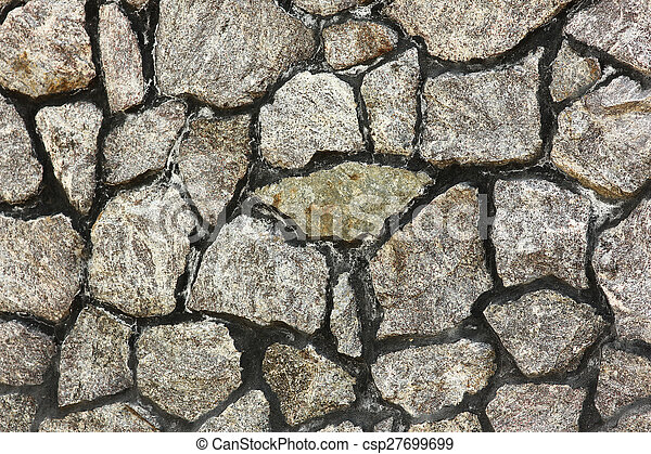 background of the stone wall, - csp27699699