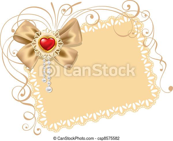 Background on Valentines Day - csp8575582