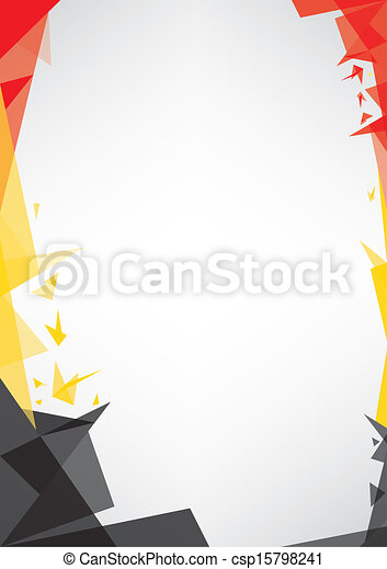 background origami of Belgium - csp15798241