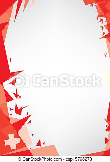 background origami of swiss - csp15798273