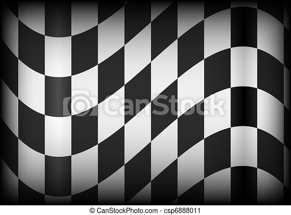 Background  - Race Flag - csp6888011