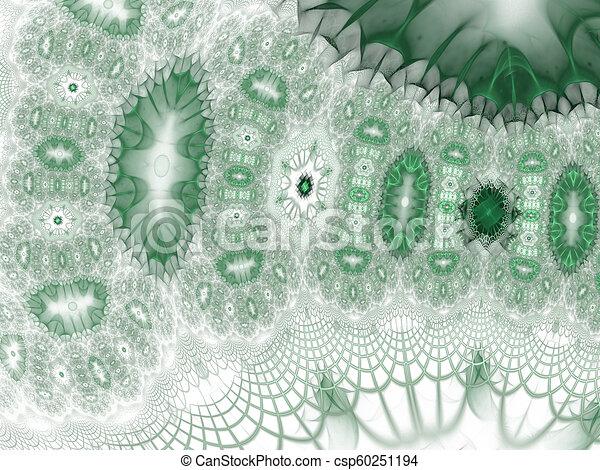 Background science or medical concept. Biochemistry concept. Fractal art - csp60251194