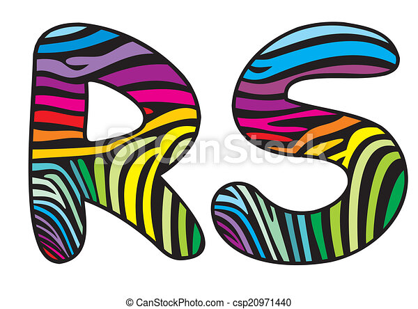 background skin zebra letter r s illustration of abstract eps rh canstockphoto com