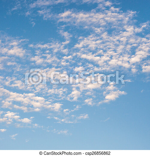 background sky with clouds - csp26856862