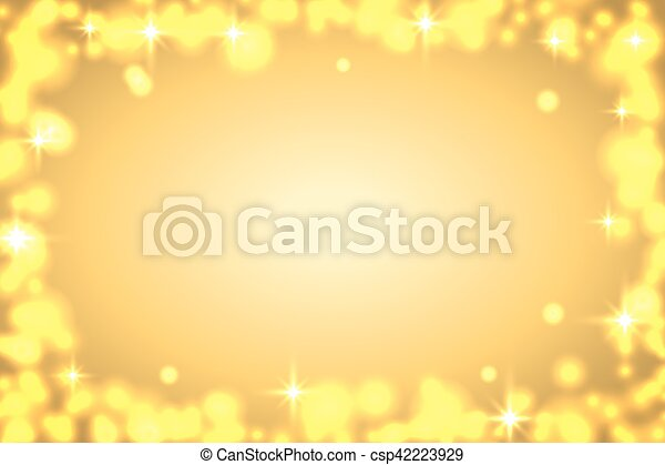 background sparkle gold csp42223929