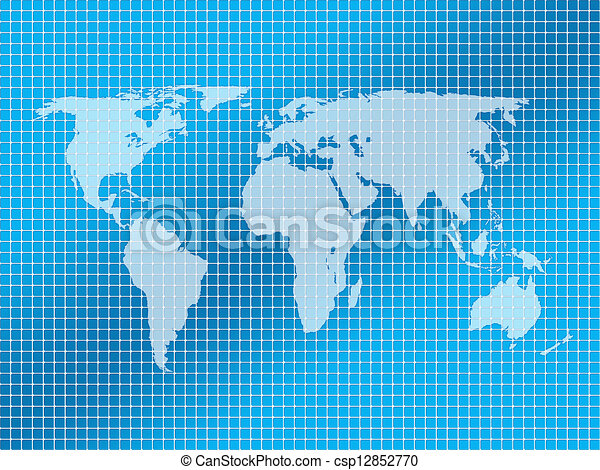 Background squares and world map square background with stock background squares and world map csp12852770 gumiabroncs Image collections