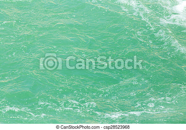 background surface of the water - csp28523968