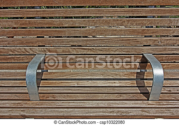 background texture of a wooden bench - csp10322080