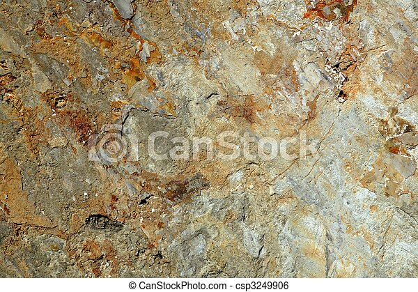 background texture of limestone stone surface - csp3249906
