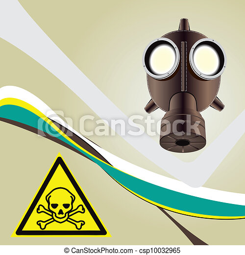 Background toxic danger - csp10032965