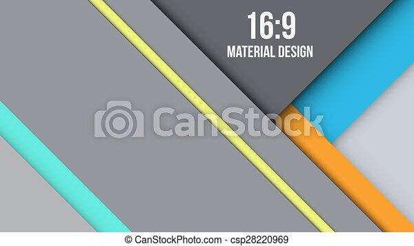 Background Unusual modern material design - csp28220969