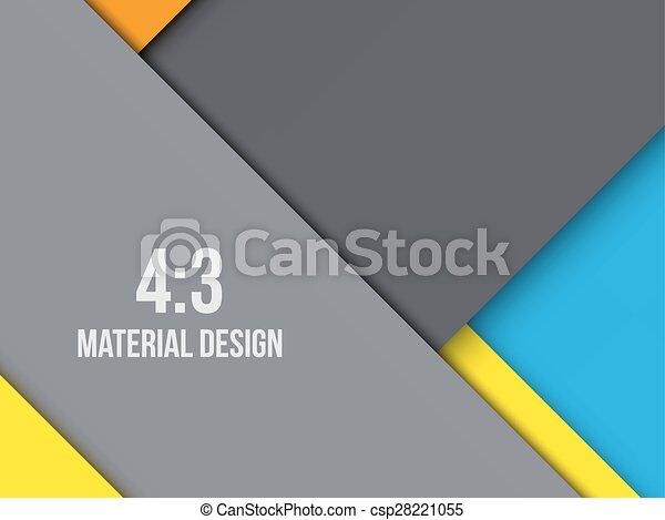 Background Unusual modern material design - csp28221055