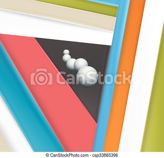 Background Unusual modern material design - csp33865396
