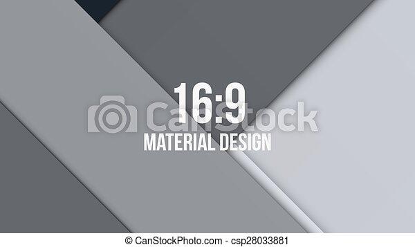 Background Unusual modern material design - csp28033881