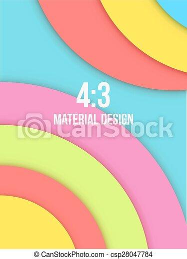 Background Unusual modern material design - csp28047784