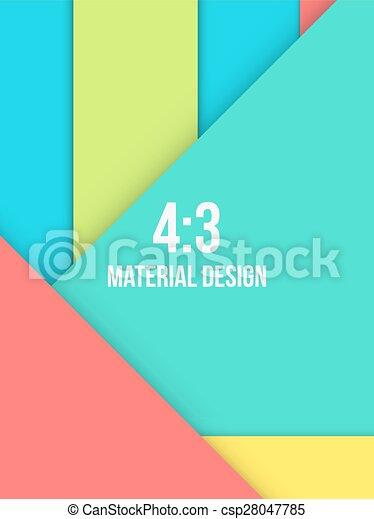 Background Unusual modern material design - csp28047785