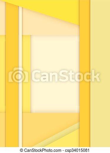 Background Unusual modern material design - csp34015081