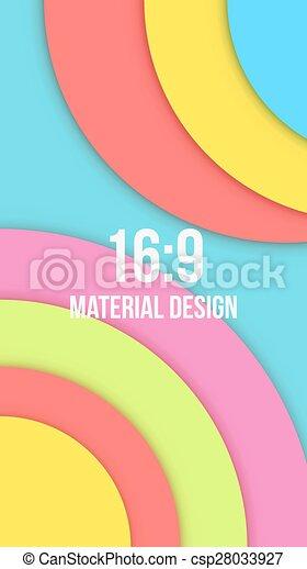 Background Unusual modern material design - csp28033927