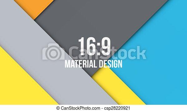 Background Unusual modern material design - csp28220921