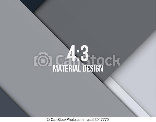 Background Unusual modern material design - csp28047770