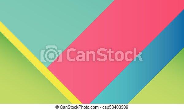 Background Unusual modern material design - csp53403309