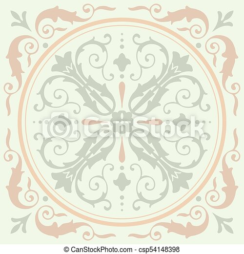 Background Vintage Flower Seamless Floral Pattern Abstract Wallpaper Texture Royal Vector Fabric Illustration