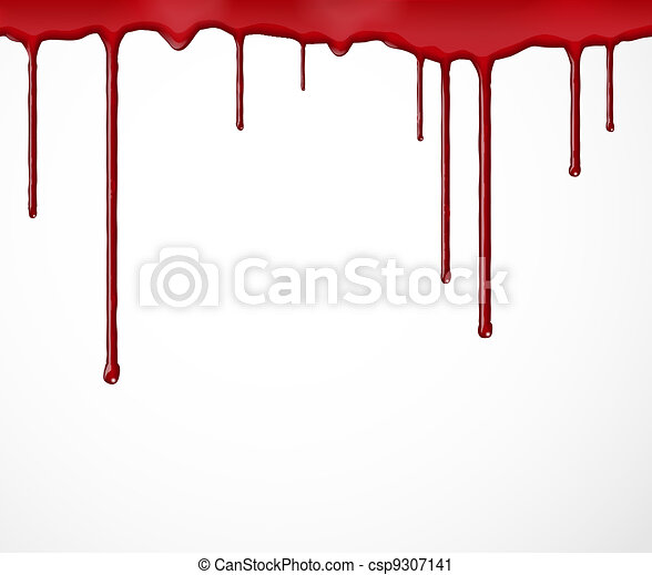 Background with blood - csp9307141