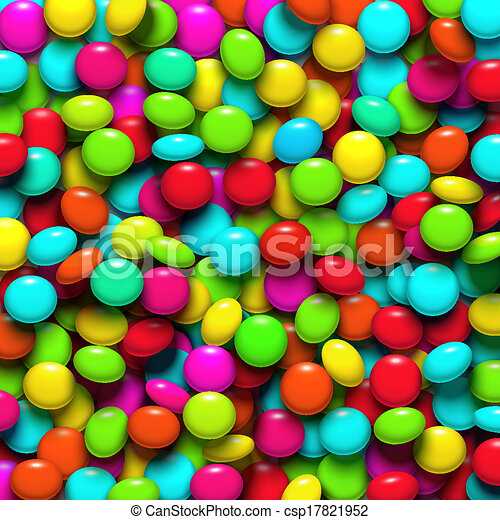 Background with candy - csp17821952
