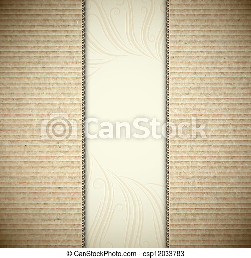 Background with cardboard - csp12033783