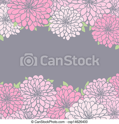 background with chrysanthemum vintage floral background vector rh canstockphoto com clipart chrysanthemum flowers chrysanthemum border clip art