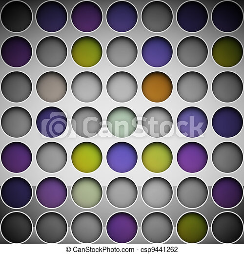 Background with circles - csp9441262