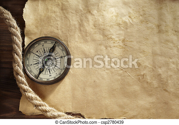 background with compass - csp2780439