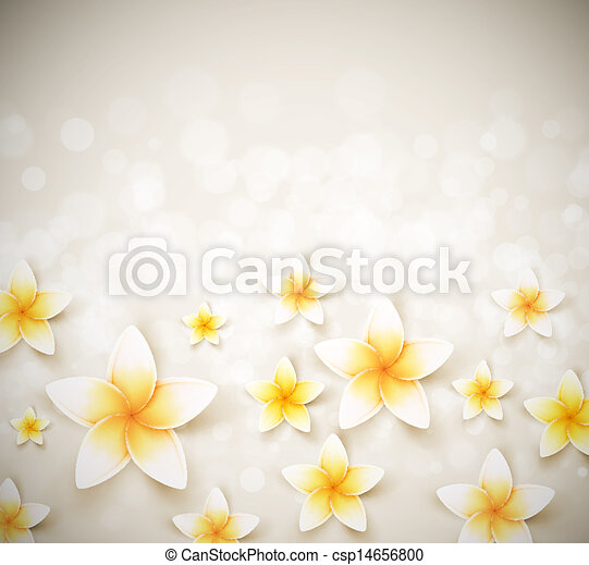 Background with flowers - csp14656800