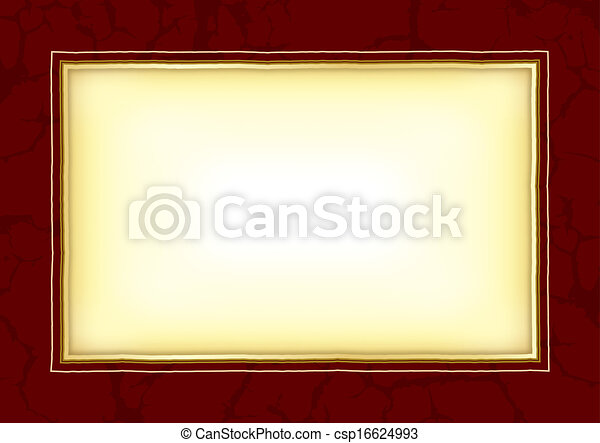 Background with frame - csp16624993