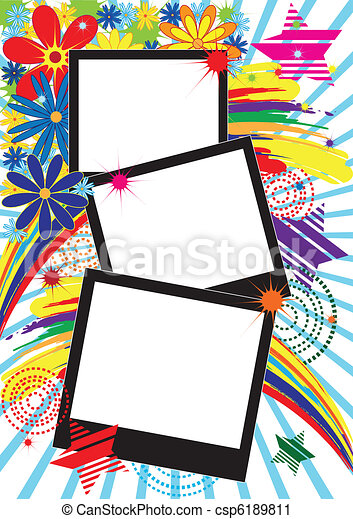 background with frames - csp6189811