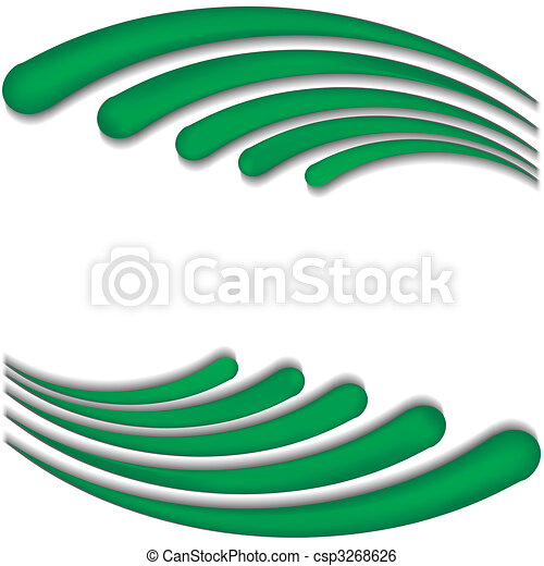 background with green wave vector illustration clip art vector rh canstockphoto com wave vector lines wave vector art