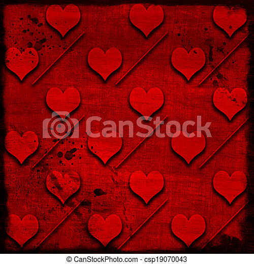 background with hearts - csp19070043