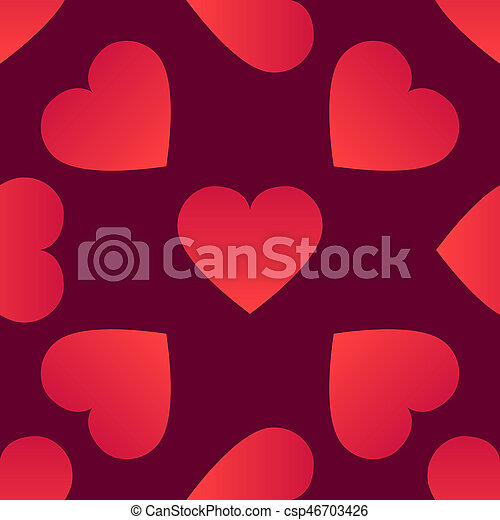 Background with hearts - csp46703426