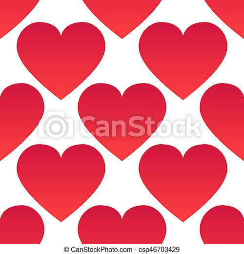 Background with hearts - csp46703429