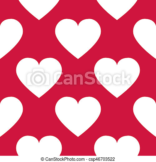 Background with hearts - csp46703522
